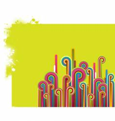 abstract illustration vector image vector image