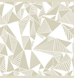 seamless texture with triangles vector image