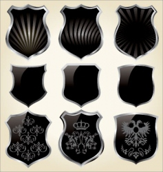shields set vector image