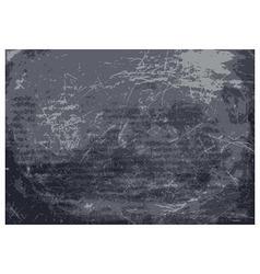 texture on chalkboard blackboard vector image vector image