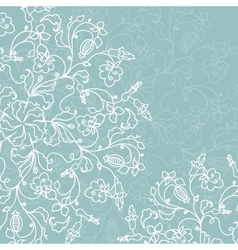 Abstract decoration with ornate ornament vector