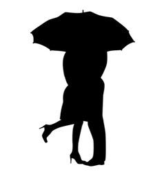 Getting Wet vector image