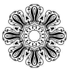 Mandala modern style vector
