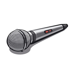 microphone vector image
