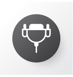 Monitor cable icon symbol premium quality vector