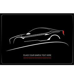 Al 0439 car silhouette vector
