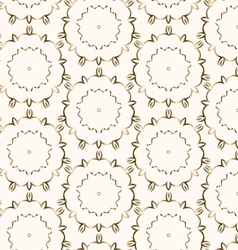 Gold Seamless pattern vector image vector image