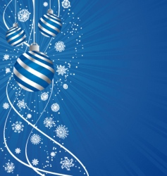 holiday composition vector image