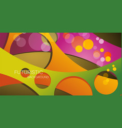 Abstract background with multicolored geometric vector