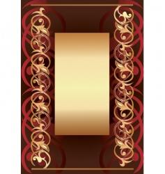 background frame vector image