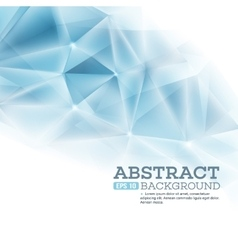 Cristal triangla background vector