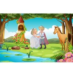 Fairytale vector image vector image