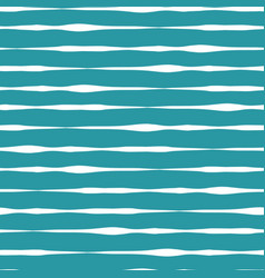 horizontal doodle lines seamless pattern vector image