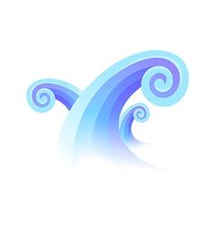 icon wave vector image