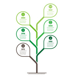 infographic of green technology or education vector image