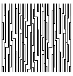 Line block pattern vector