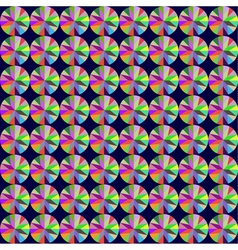 Seamless background with geometric pattern of roun vector