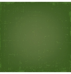 Vintage green grunge texture or background vector image