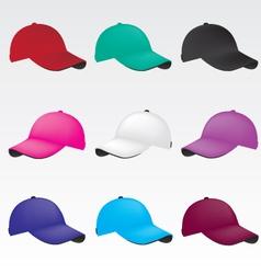 caps vector image vector image
