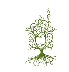 Green house ecology concept for your design vector image vector image