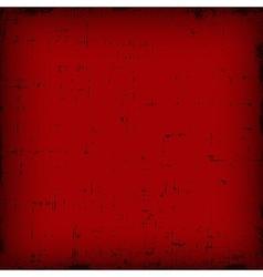 Red vintage editable grunge background vector image