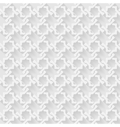 Arab white pattern background vector image