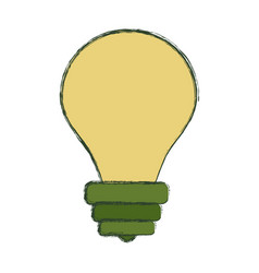 bulb light energy vector image