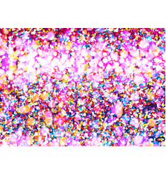 celebration confetti background vector image