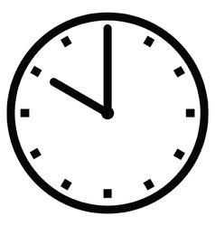 Clock 10 vector image