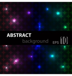 Multicolor modern geometrical abstract vector image