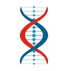 New DNA and molecule sign vector