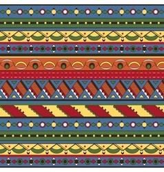 Seamless ethnic background vector