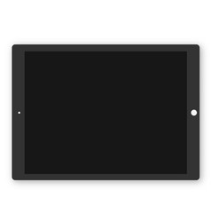 tablet ipad vector image