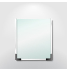 information board vector image vector image