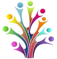 Family tree symbol vector