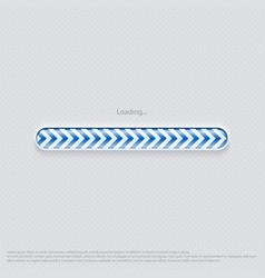 loading web design blue vector image