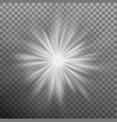 glowing light effects lens flare eps 10 vector image vector image
