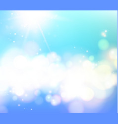 Abstract shining space futuristic background vector