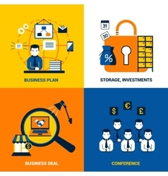 Business Design Concept vector