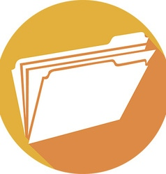 Folder Icon vector image