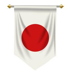 Japan pennant vector
