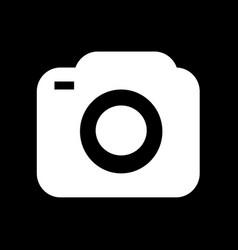 photo camera icon design vector image