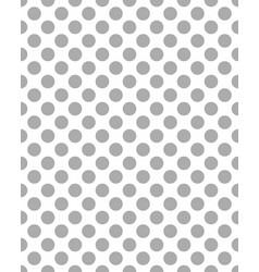 pattern of gray dots vector image vector image