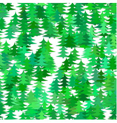 abstract random pine tree pattern background vector image