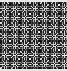 abstract seamless cross pattern vector image
