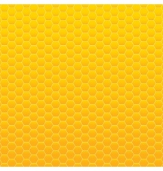 Background Yellow and orange honeycomb vector