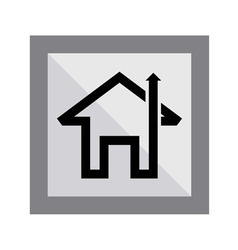 Home Arrow Icon vector