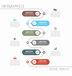 Infographic template vector