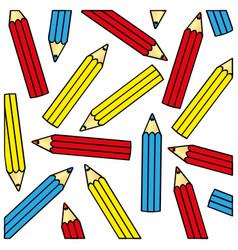 pencil color icon stock vector image