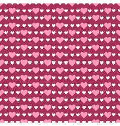 romantic pattern vector image vector image